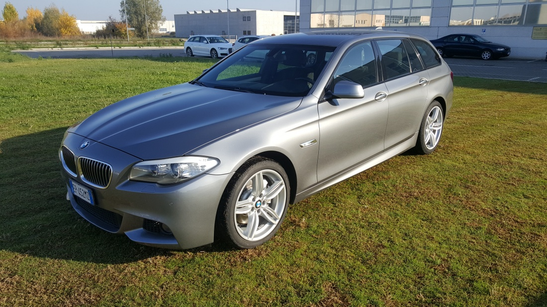 bmw 525d touring xdrive m sport 218cv automatico autosole. Black Bedroom Furniture Sets. Home Design Ideas